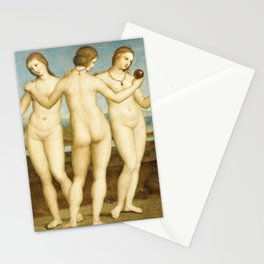 Three Graces (Raphael) Stationery Cards