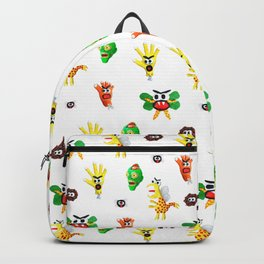 Monster Clay Backpack