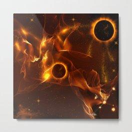 The inferno Metal Print