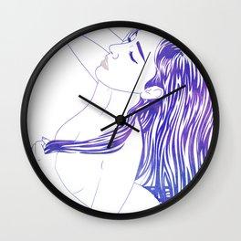 Water Nymph XVIII Wall Clock