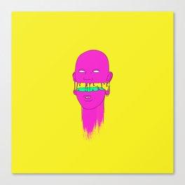 Pinky little head Canvas Print
