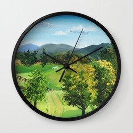 Sinkland Farm, Riner, VA Wall Clock