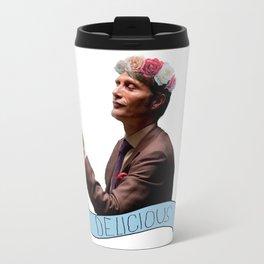 Hannibal - Flower Crown Travel Mug
