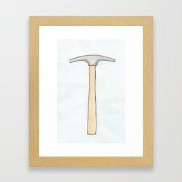 Upholstery Tack Hammer Framed Art Print