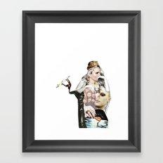 l'imperatrice Framed Art Print