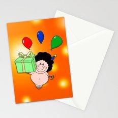 Birthday Pig Stationery Cards
