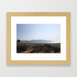 Akyaka to the Bay Of Gokova Framed Art Print