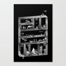 Cabinet Canvas Print
