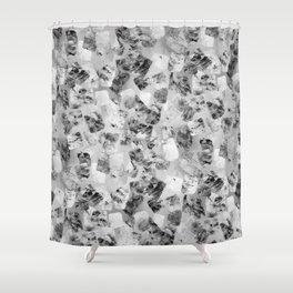 tear down variant (monochrome series) Shower Curtain