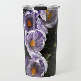 Spring Crocuses Travel Mug