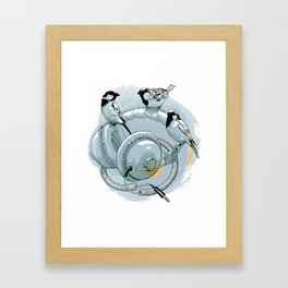'Phones Framed Art Print
