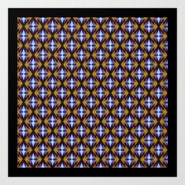 Building Caleidoscope Art Print