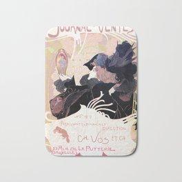 1899 Art nouveau auction journal ad Bath Mat
