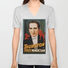 Thurston World Famous Magician Unisex V-Neck