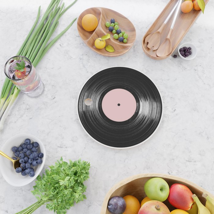 For the Record Cutting Board