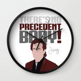 No Precedent Wall Clock
