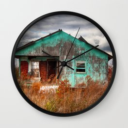 Lonely Old House on the Hill 2 Wall Clock