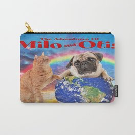 Milo And Otis Take On The World Carry-All Pouch