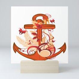 Anchor T-shirt Mini Art Print
