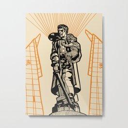 Berlin-Soviet War Memorial Metal Print