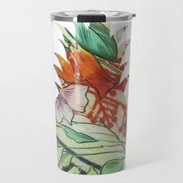 Pineapple fabric Travel Mug