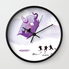 People Eater Wall Clock