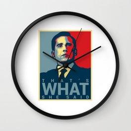 That's What She Said Michael Scott Wall Clock