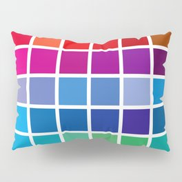 color chart Pillow Sham