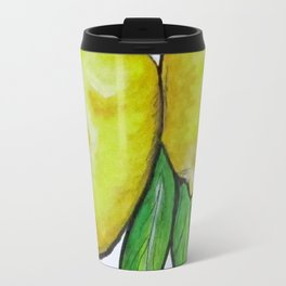 Two Lemons Travel Mug