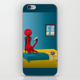 Rennie's Bedtime Story iPhone Skin