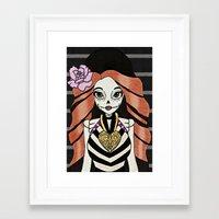 monster high Framed Art Prints featuring Skelita - Monster High by Jeeny Trindade