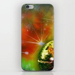 Cosmic traveller iPhone Skin