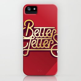 Better Letters iPhone Case