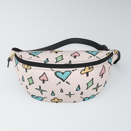 Ace Of Spade Fanny Pack