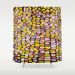 Flint Corn Shower Curtain