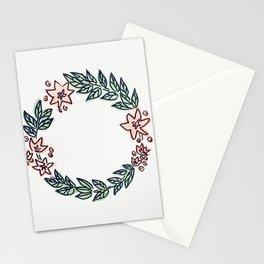 Star Wreath Stationery Cards