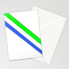 Flag of sierra leone 3 -salone,Sierra Leonean,Leone,Sierra Leona,freetown. Stationery Cards