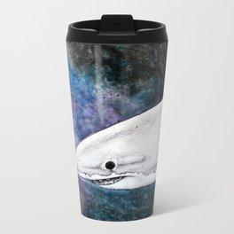 Galaxy Shark Metal Travel Mug