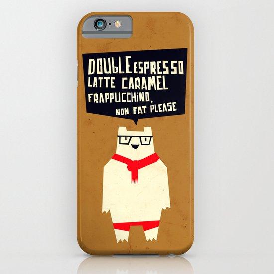 Yeti wants Coffee! iPhone & iPod Case