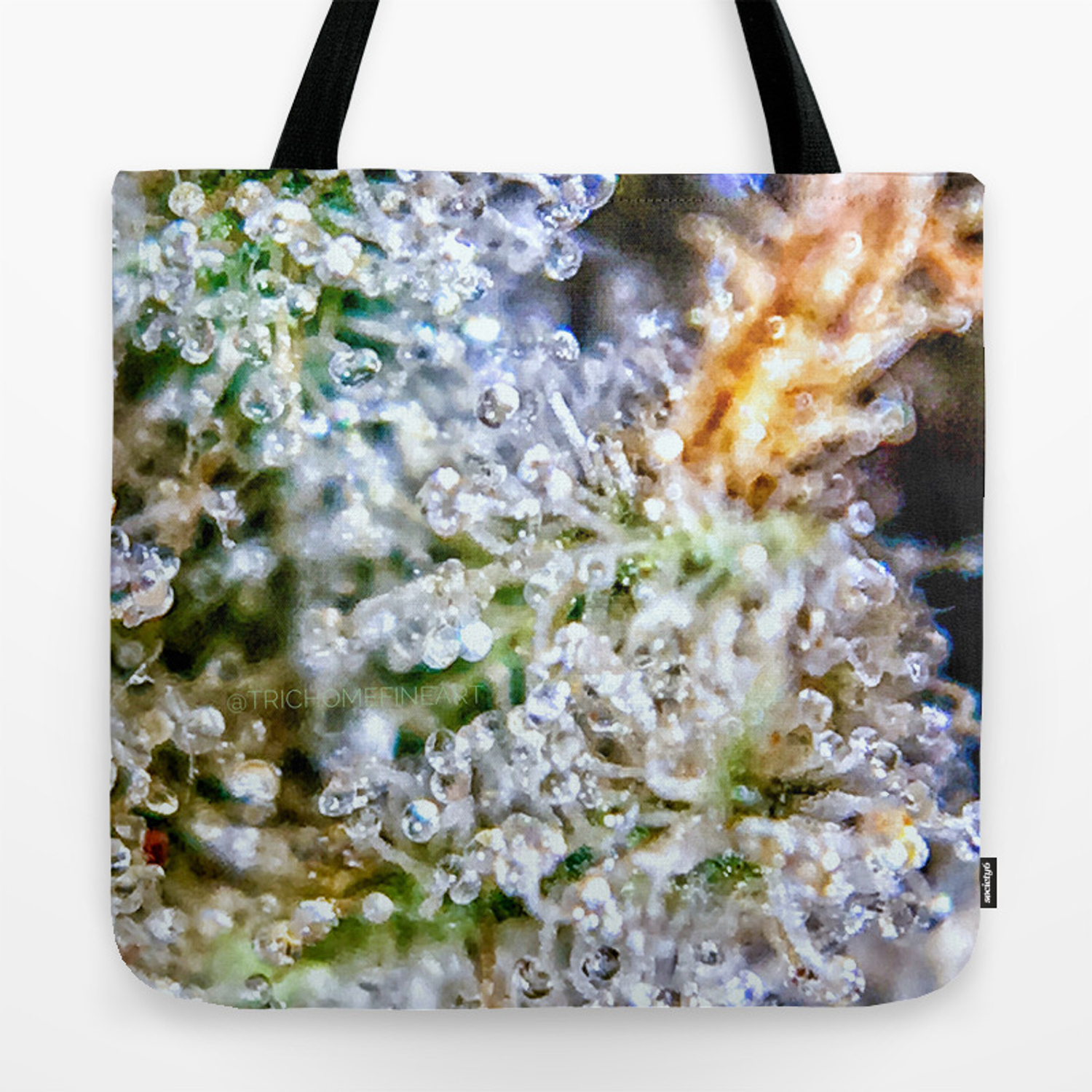 Gorilla Glue Trichomes Strain Indoor Hydro Private Reserve Buds Tote Bag