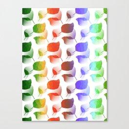 Leaves Descent Canvas Print