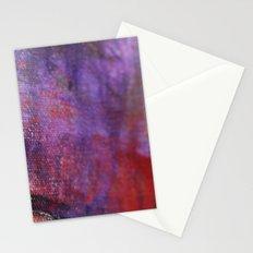 Red Vastness Stationery Cards
