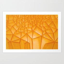 Geometric Plastic Art Print