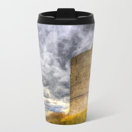 Hadleigh Castle Art Travel Mug