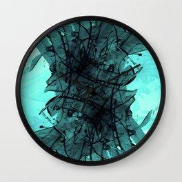 Aqua Anatomy Wall Clock