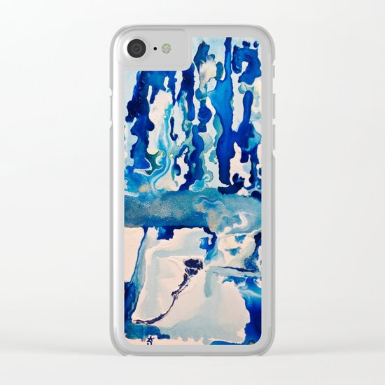 Our Ice Is Melting Clear iPhone Case