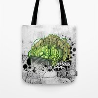 muppet Tote Bags featuring mr. & mrs. muppet by ti-dablju-styles - Freaky Design & Art