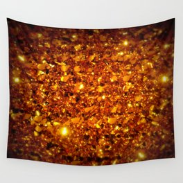 Copper Sparkle Wall Tapestry