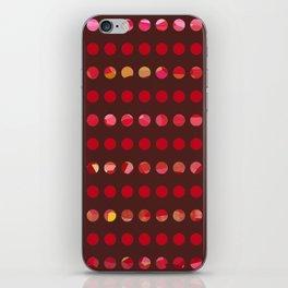 Pink Circles-a-Plenty iPhone Skin