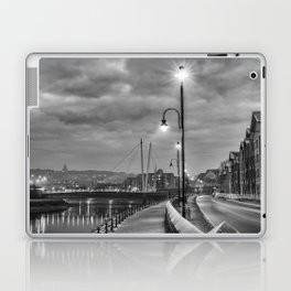 Early Winter evening St. George's Quay, Lancaster Laptop & iPad Skin